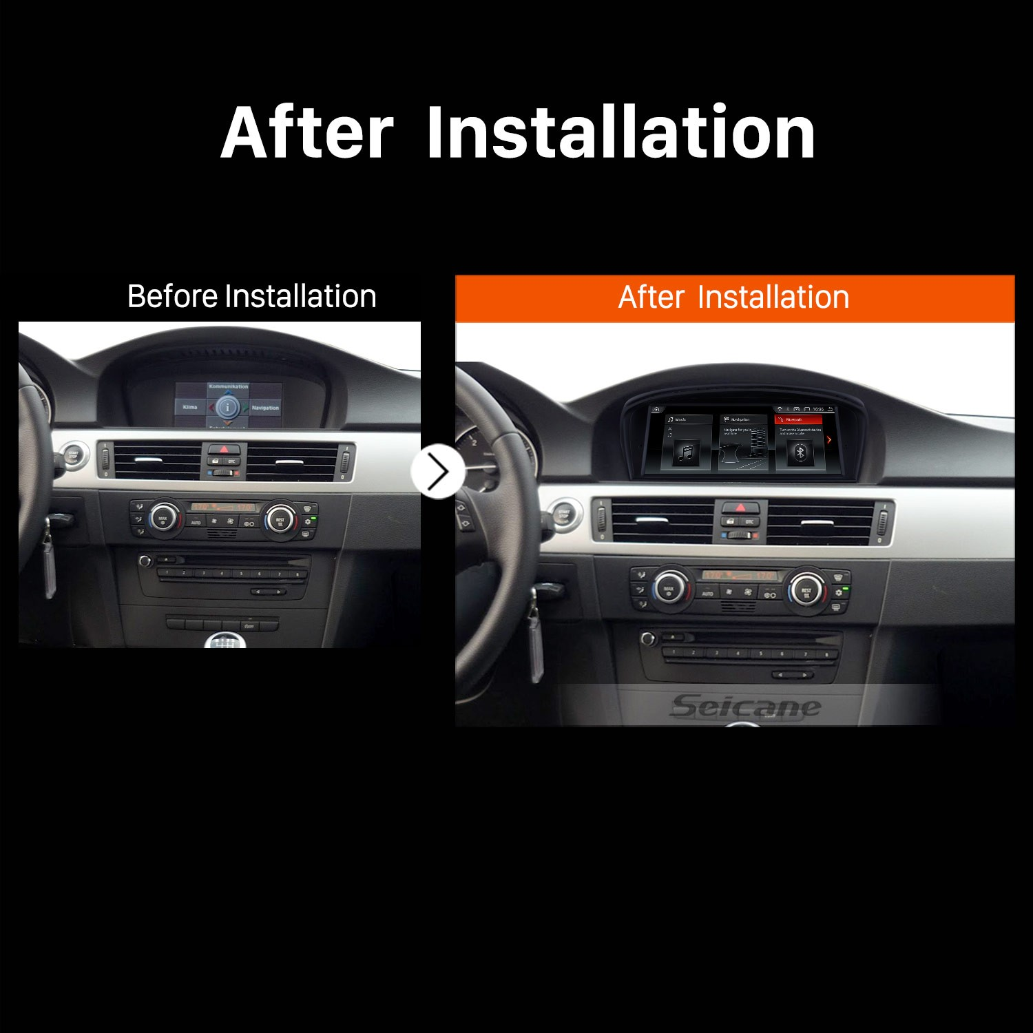 8 8 inch Android 8 1 Touchscreen Radio for 2009-2012 BMW 3 Series