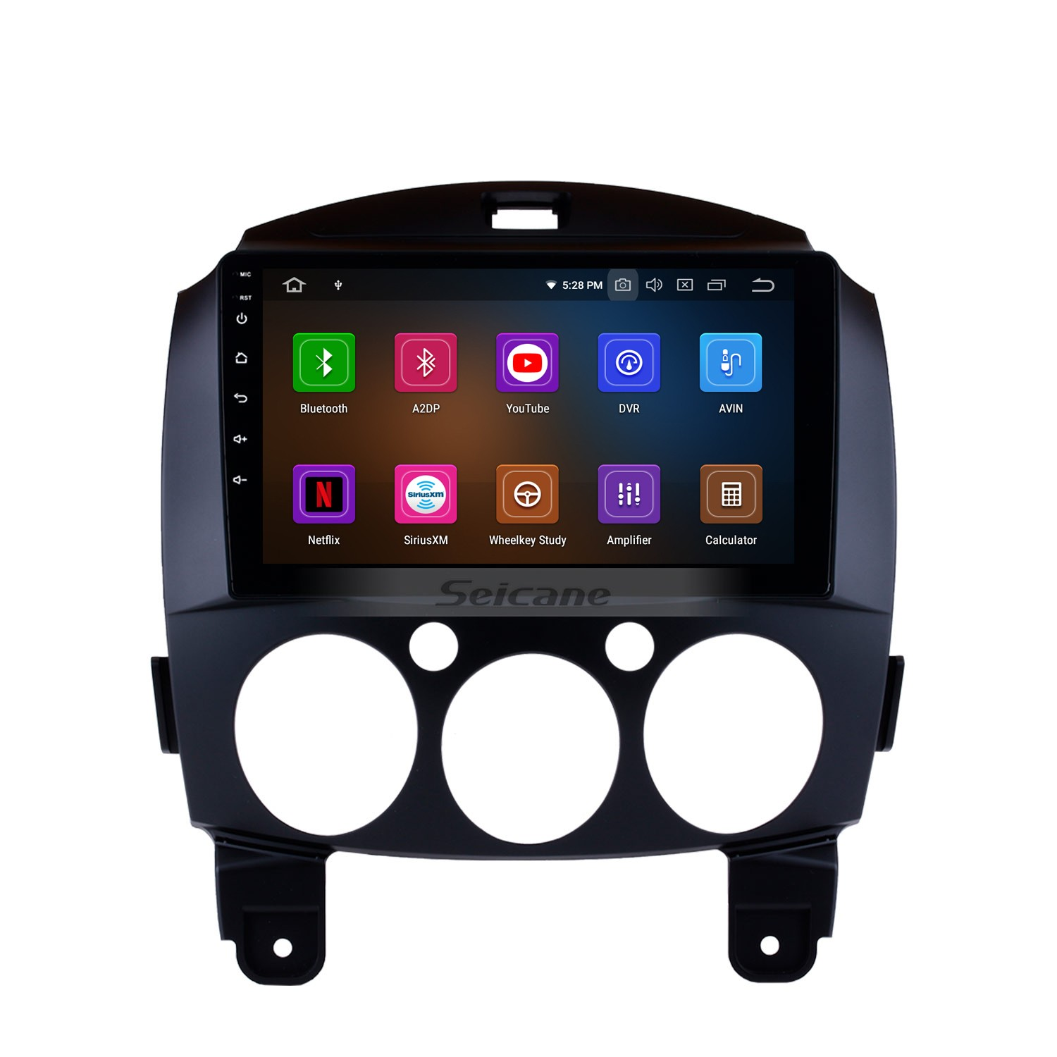 9 Inch HD Touch Screen GPS Navigation System Android 9 0 Radio For