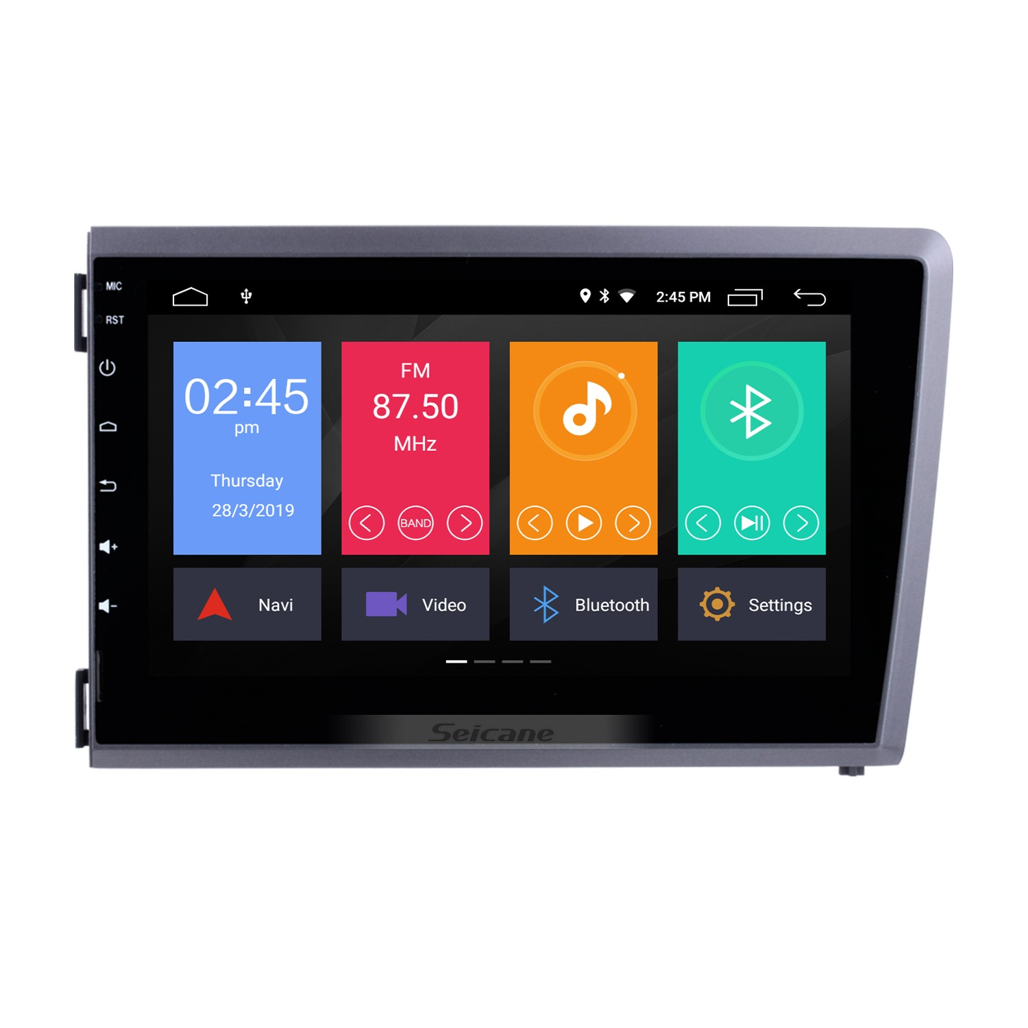 8 Inch Android 10.0 HD Touch Screen DVD Player For 2000