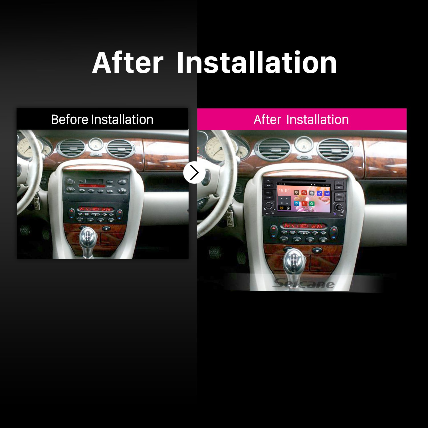 7 Inch Android 8.1 In Dash Radio For 2000-2006 BMW 3