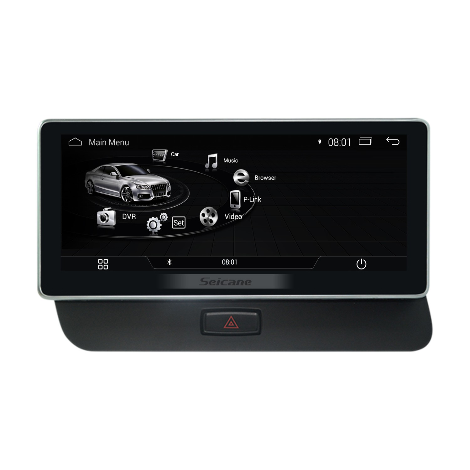 10.25 inch 2009-2018 AUDI A5 Left Hand Driving Car Android 4.4 Radio on
