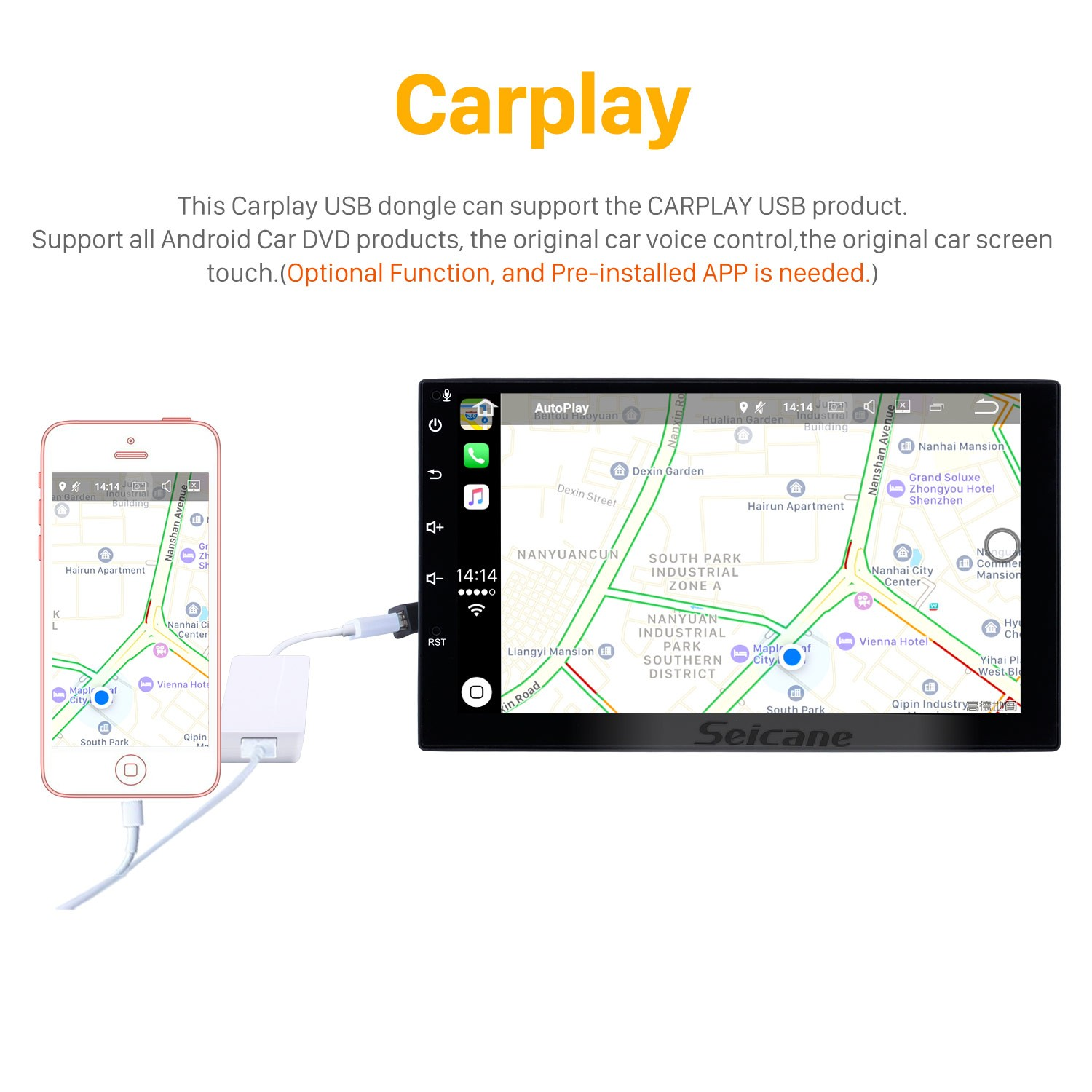 HD Touchscreen 9 inch Android 8 1 GPS Navigation Radio for 2016-2018