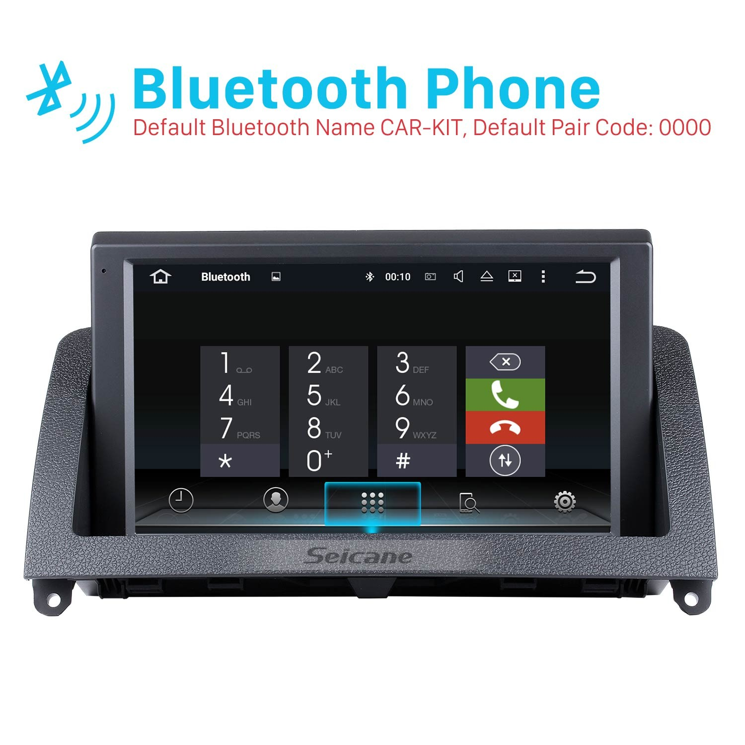8 Inch HD 1024*600 Touchscreen Android Raido for 2007-2011 Mercedes