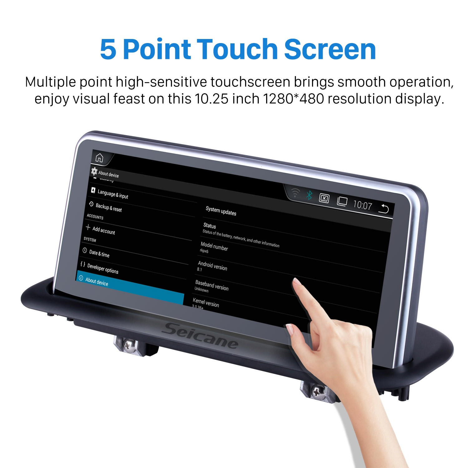 10 25 Inch Android 8 1 2004-2008 AUDI A4 Car Radio Stereo Head Unit