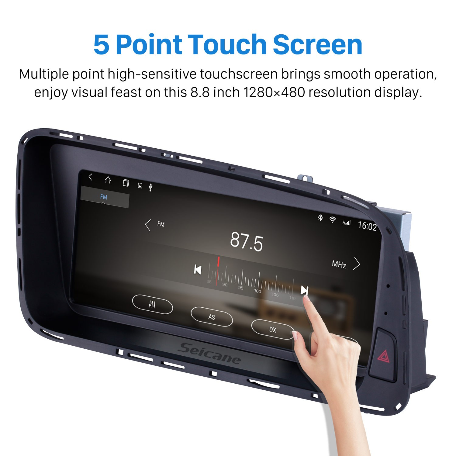 8 8 inch Android 6 0 1280*480 Touchescreen Radio for 2009 2010 2011