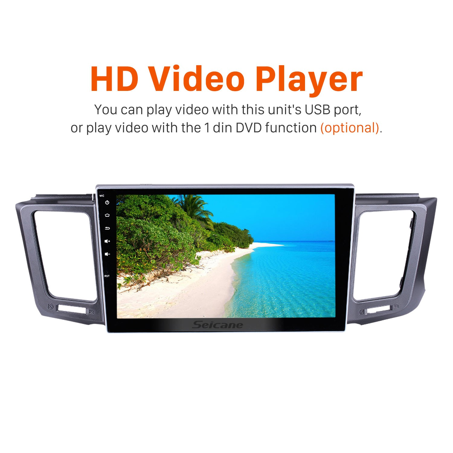 Autoradio Android 8 0 GPS navigation system for 2013-2017 Toyota
