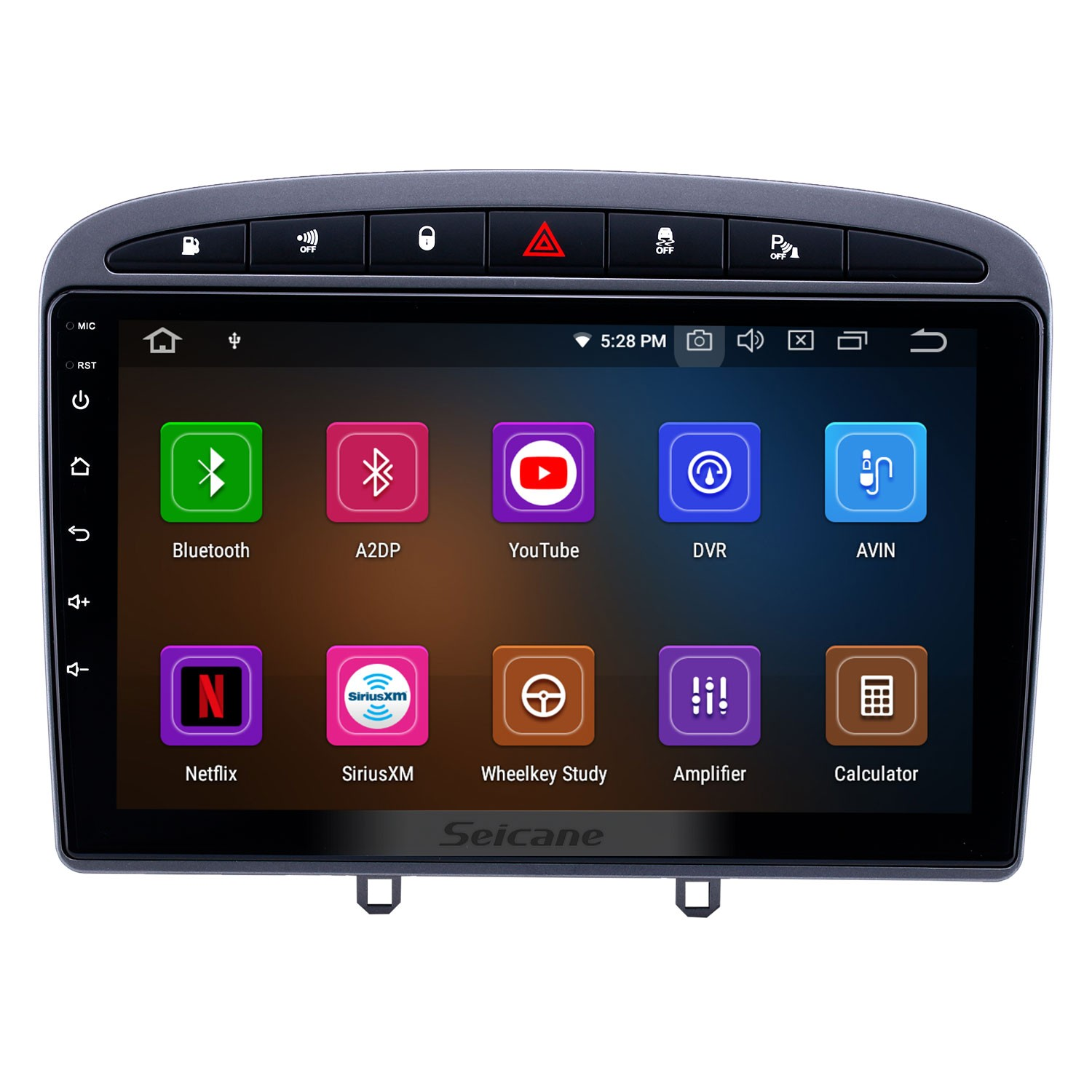 2010 2011 Peugeot 308 408 Android 9 0 9 inch Bluetooth Radio GPS