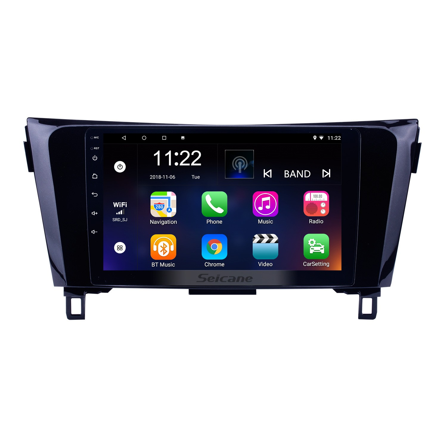 Android 8 1 GPS Radio Bluetooth Multimedia Navigation System for