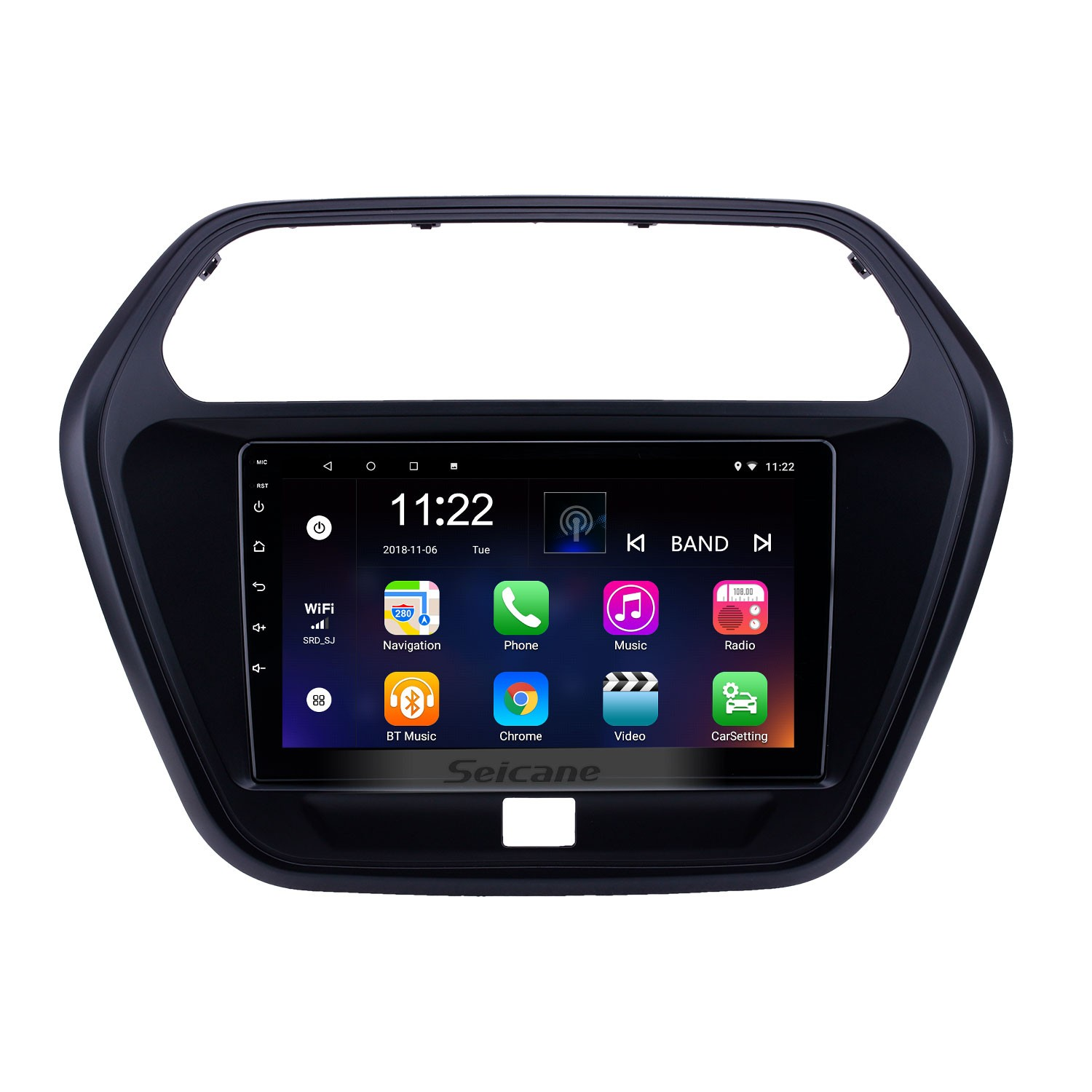 2015 Mahindra TUV300 Android 8 1 Touchscreen 9 inch Head Unit