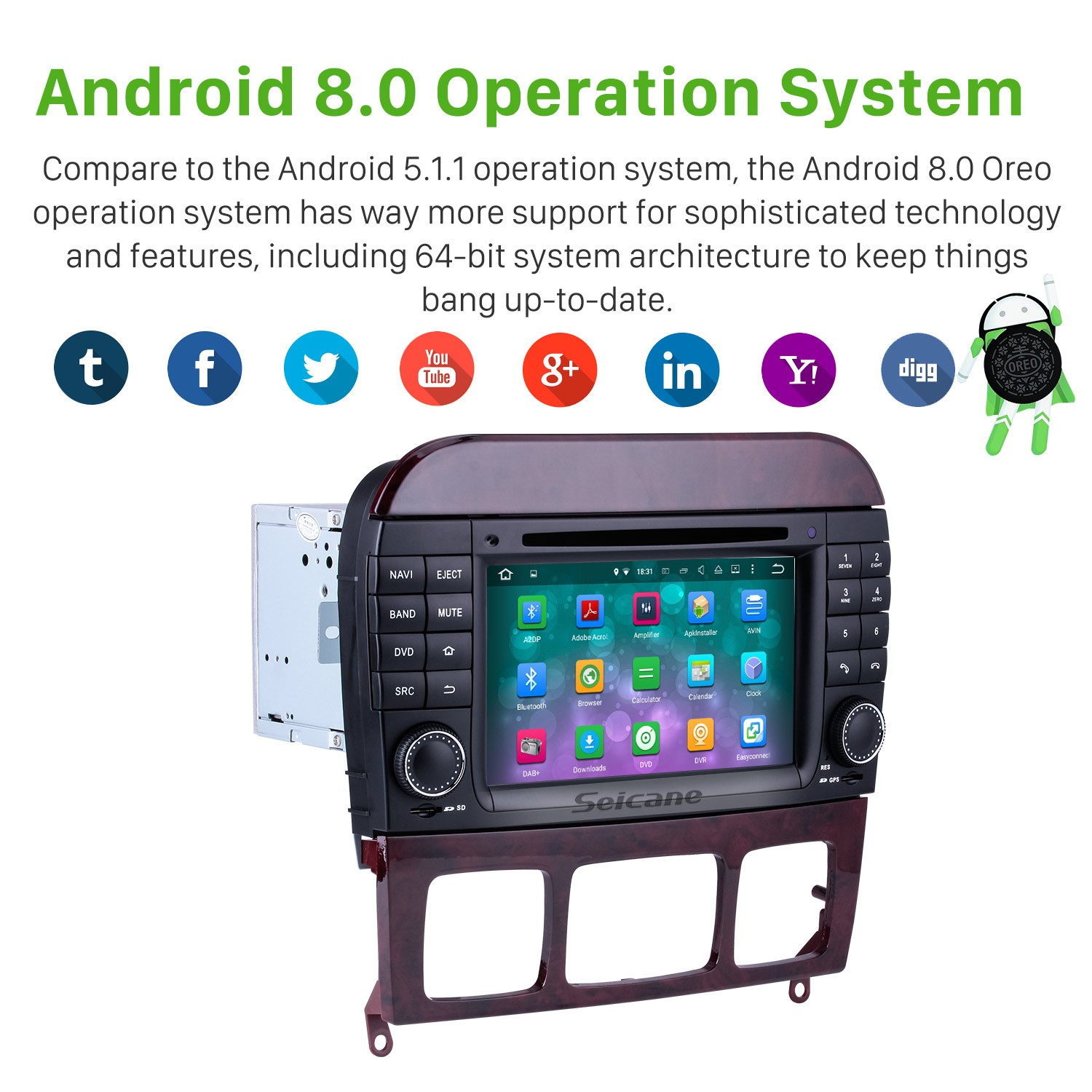 aftermarket android 8 0 gps navigation system for 1998-2005 mercedes-benz s-class  w220 s280 s320 s350 s400 s430 s500