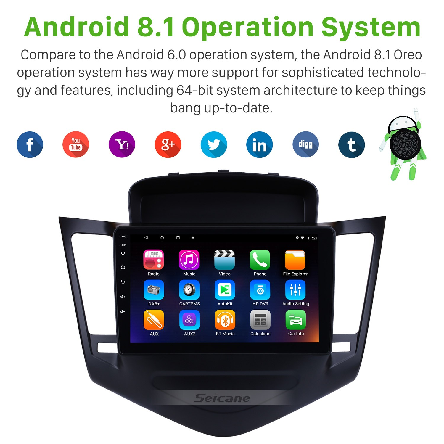 2013 2014 2015 Chevy Chevrolet Cruze 9 inch Android 8.1 HD 1024*600 Obd Wiring Diagram Chevy Cruze on