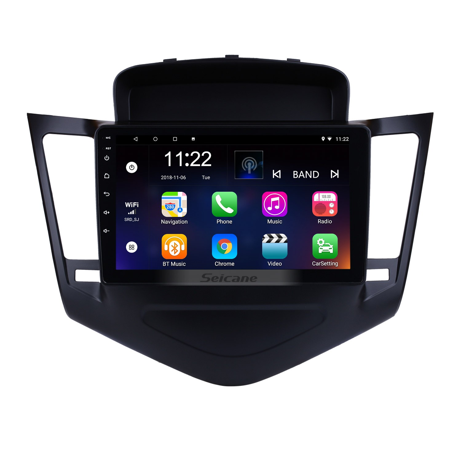 2013 2014 2015 Chevy Chevrolet Cruze 9 inch Android 8 1 HD 1024*600