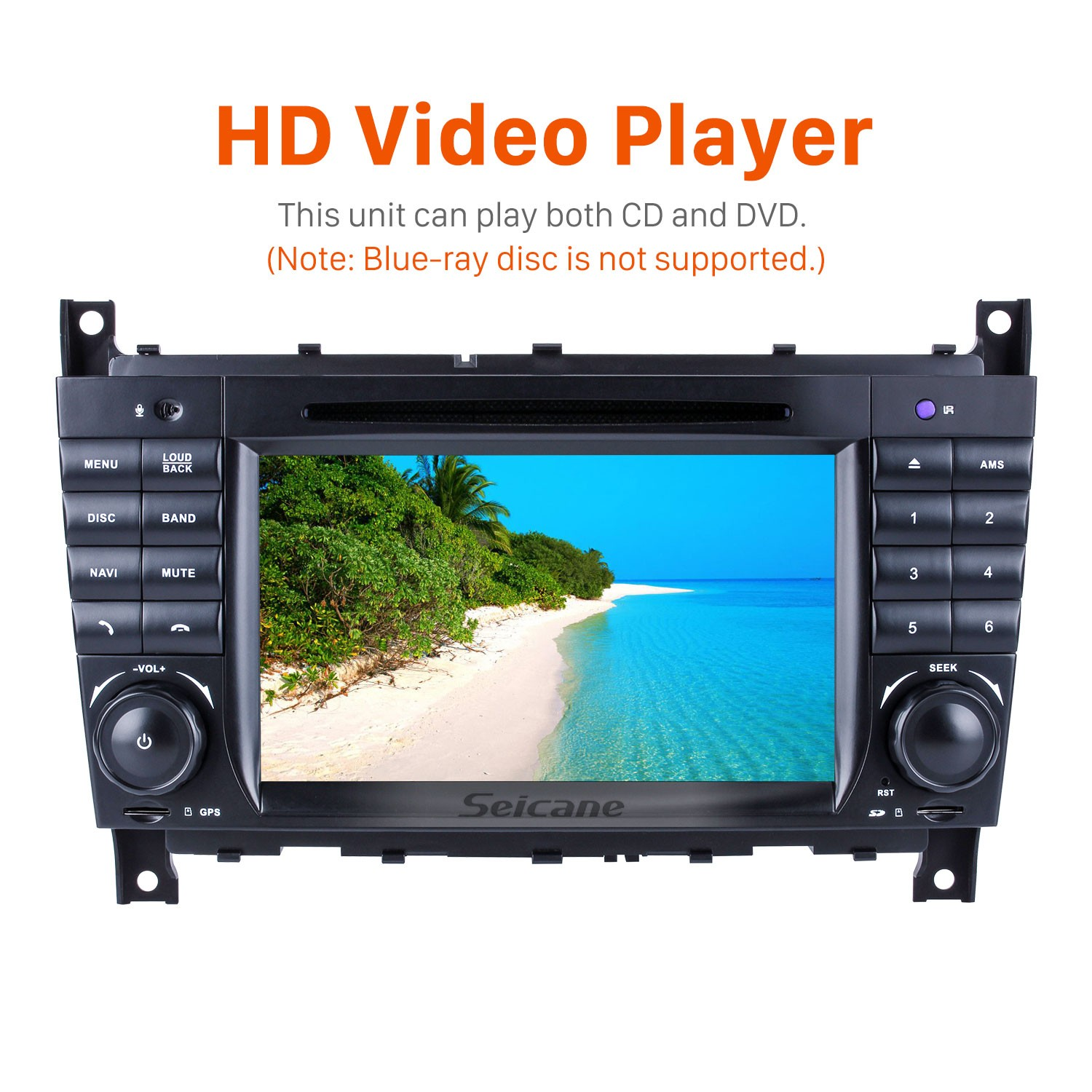 Aftermarket Radio Android 9 0 7 Inch DVD Player For 2004-2007