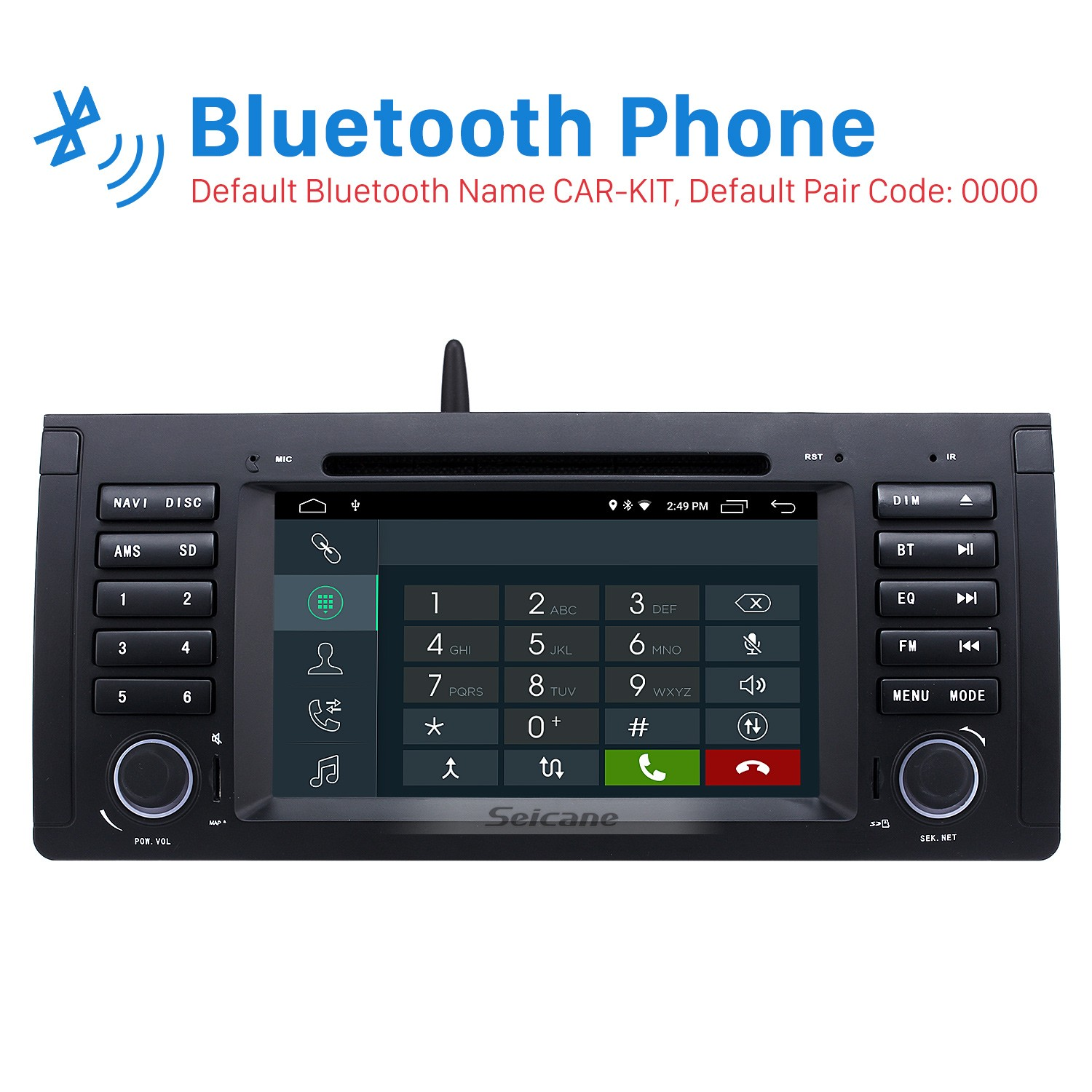 Android 9 0 Car Dvd Player For Bmw X5 E53 With Gps Radio Tv Bluetooth