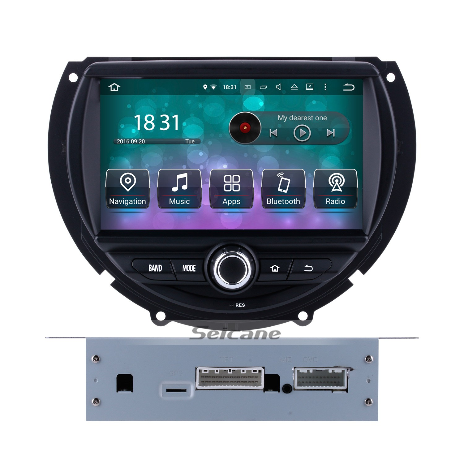 OEM Android 8 0 DVD Player GPS Navigation system for 2015 2016 BMW