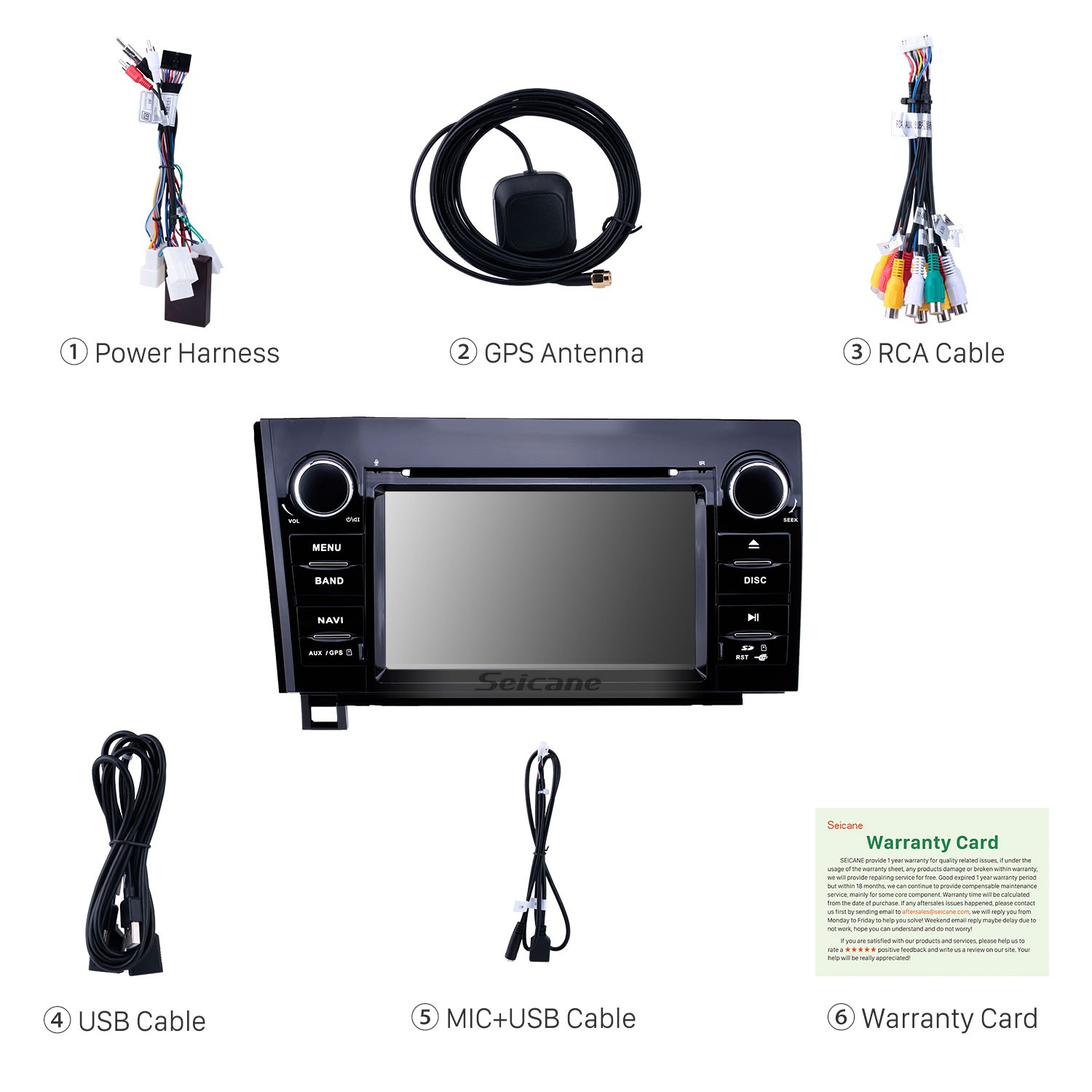 7 inch android 9 0 hd touchscreen gps navigation radio for 2008-2015 toyota  sequoia/2006-2013