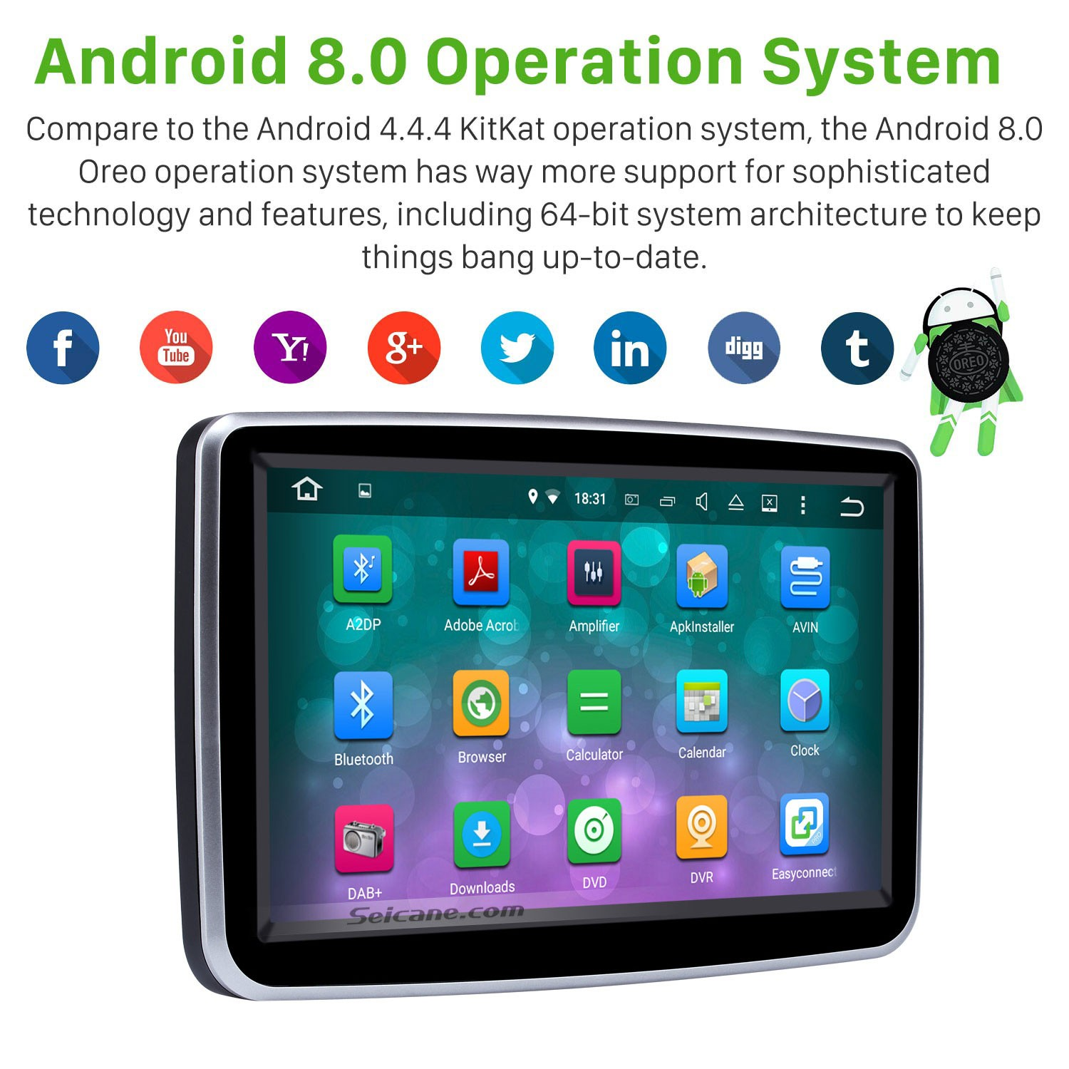 8 inch Android 8 0 GPS Navigation system for 2014-2016 Mercedes-Benz