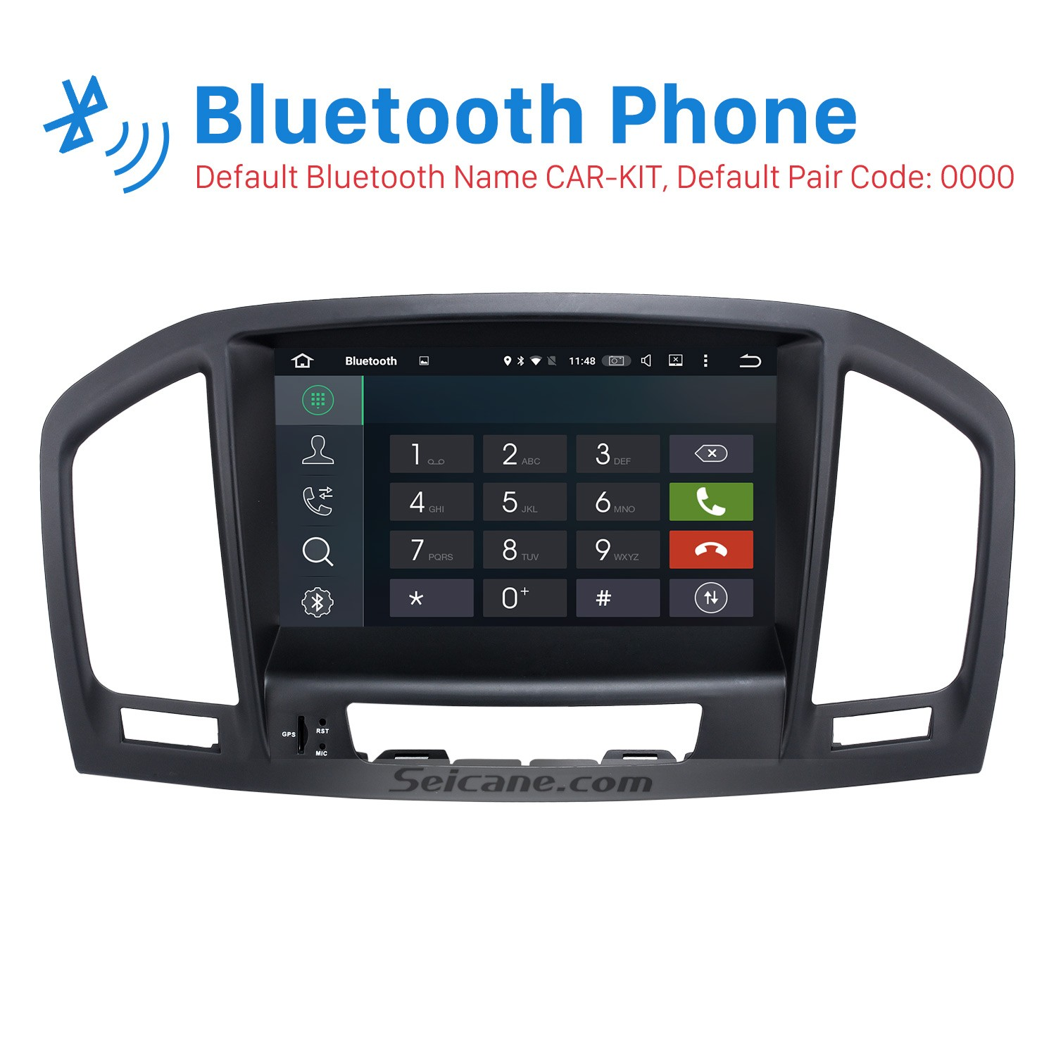Aftermarket 8 inch Android 8 0 2008-2013 Opel Vauxhall Insignia