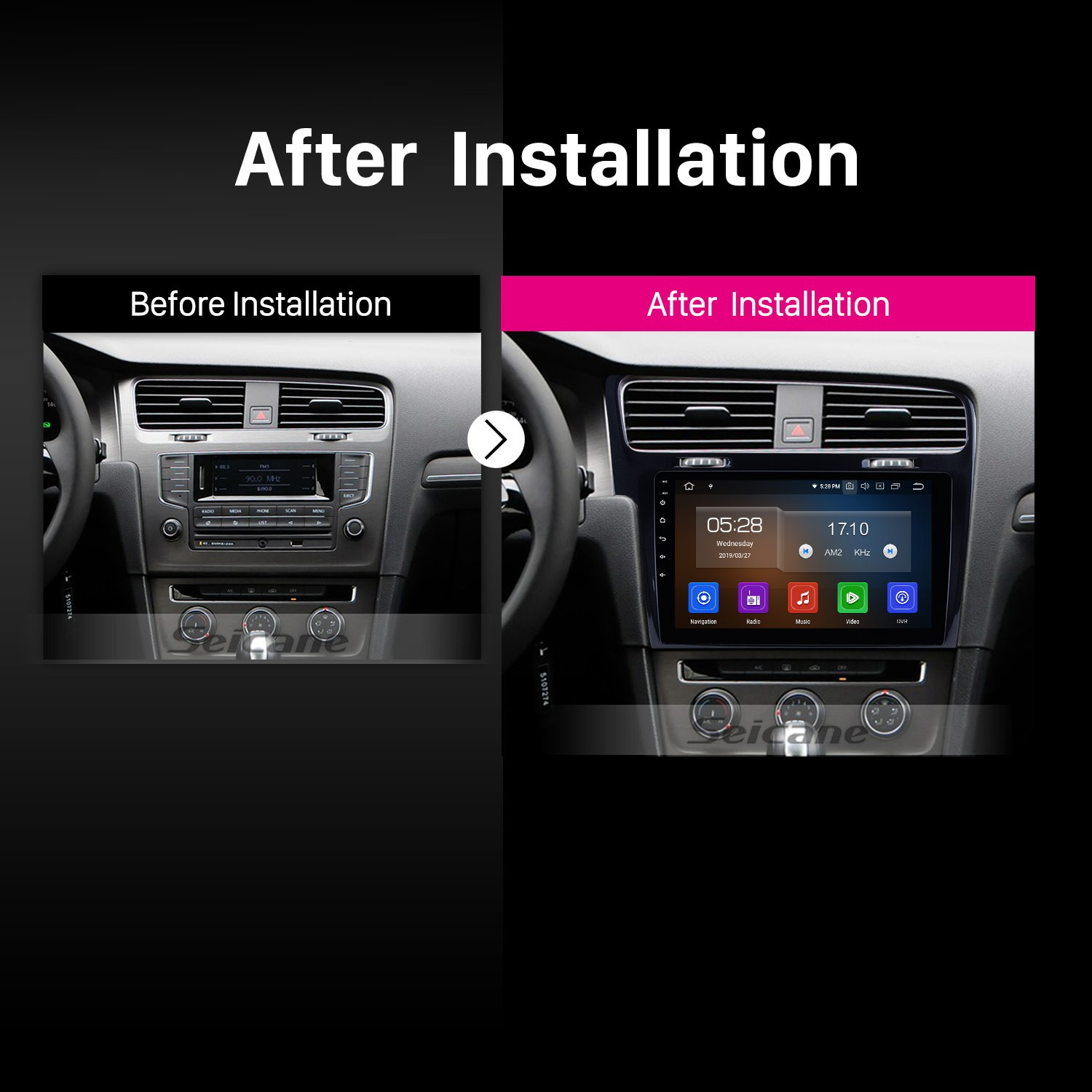 Android 9 0 Radio GPS Navigation DVD Player Car stereo for 2013 2014