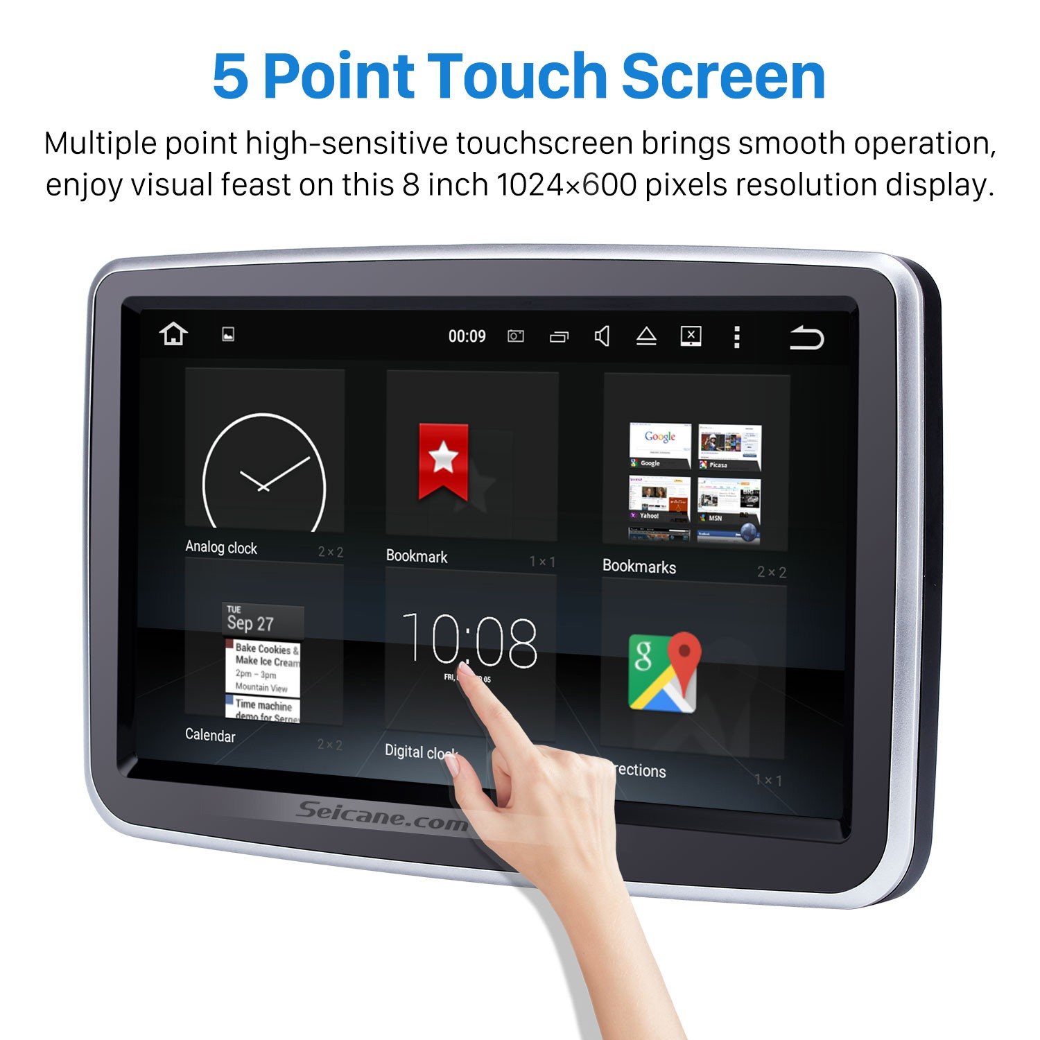 8 Inch Android 8 0 HD 1024*600 Touchscreen for 2012-2016 Mercedes