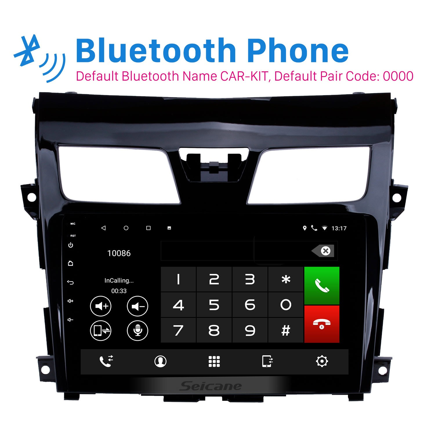 9 Inch aftermarket Android 8.1 HD Touch Screen GPS ...