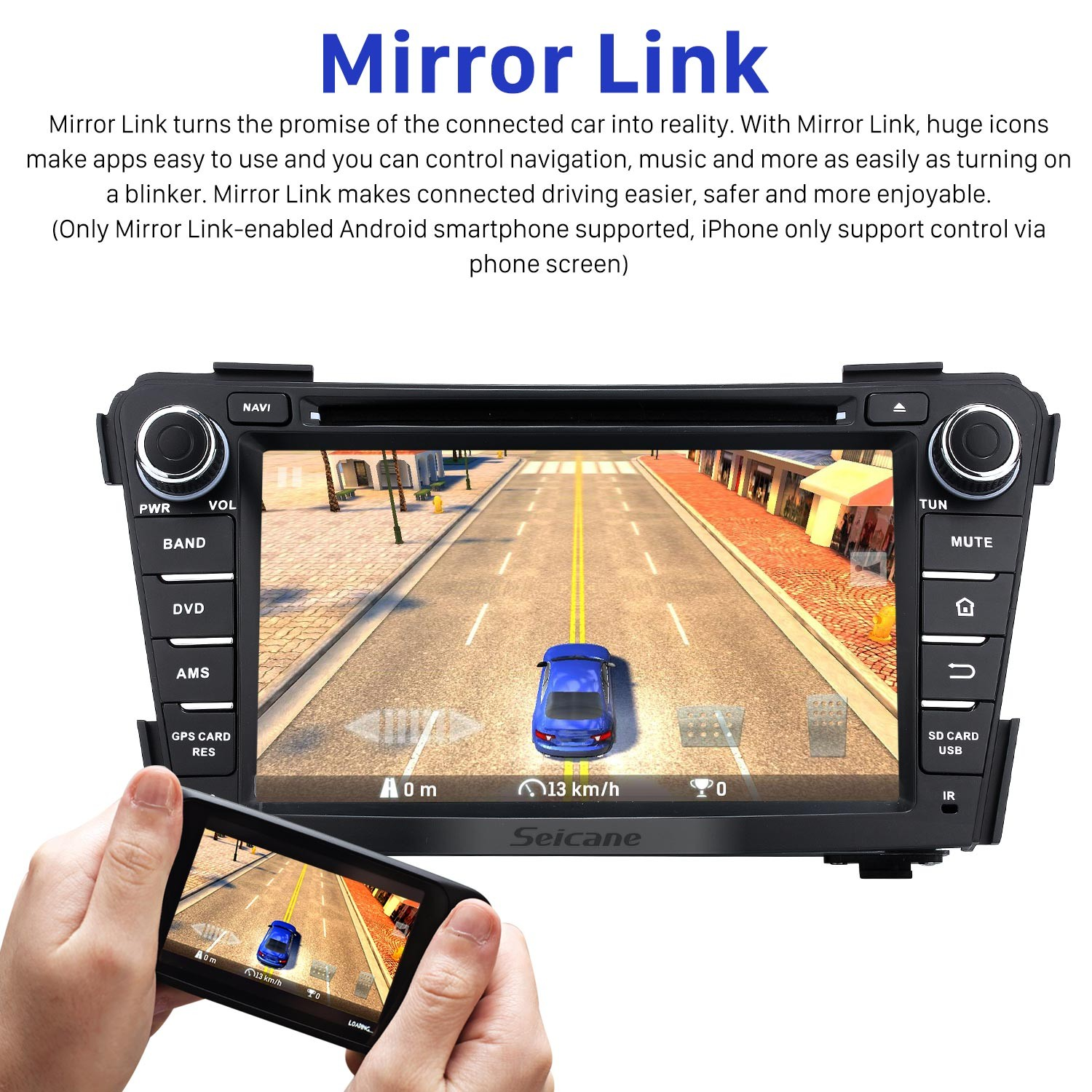 Android 7 1 DVD Stereo GPS navigation system Bluetooth Radio for