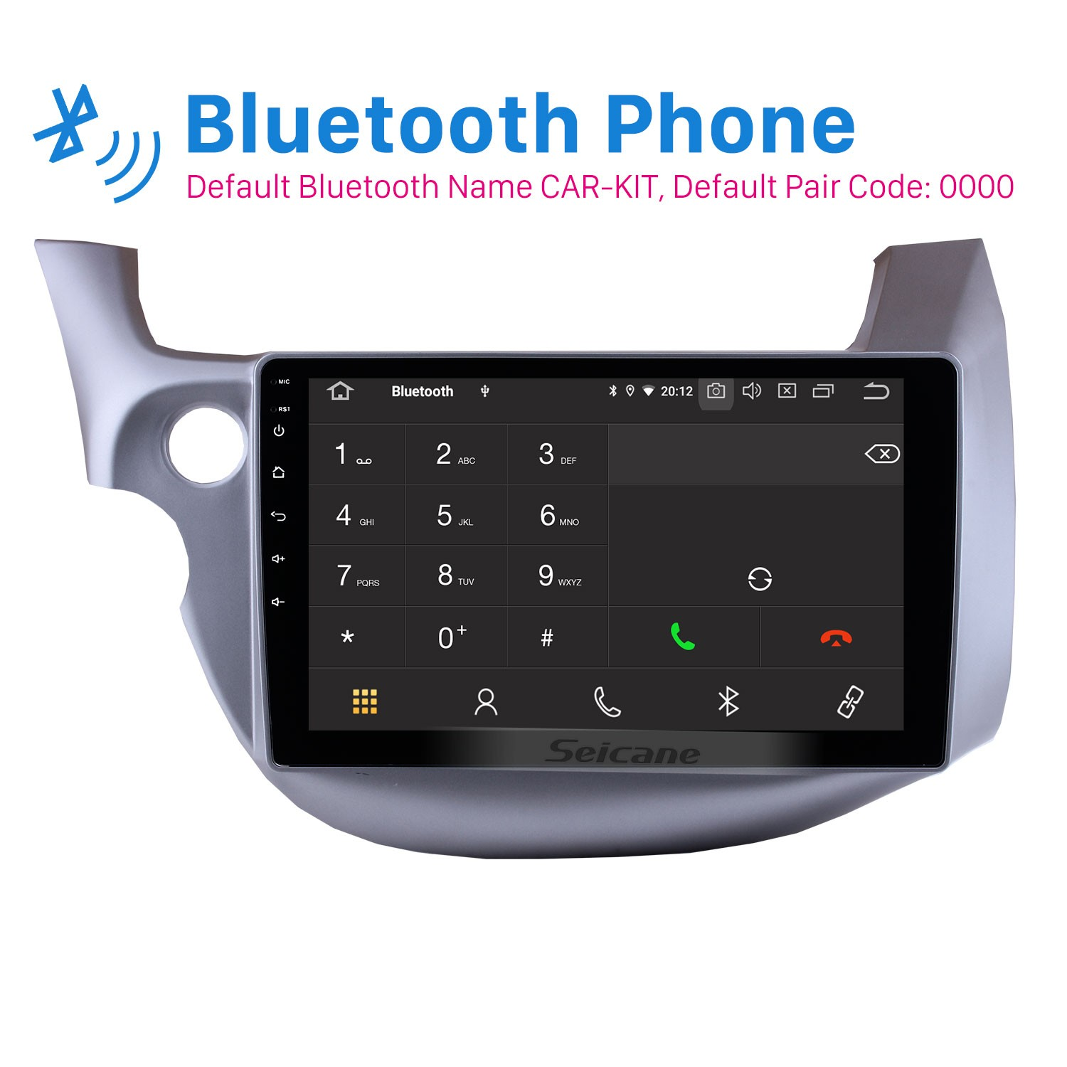 10 1 Inch Android 10 0 Gps Radio Car Stereo For 2007