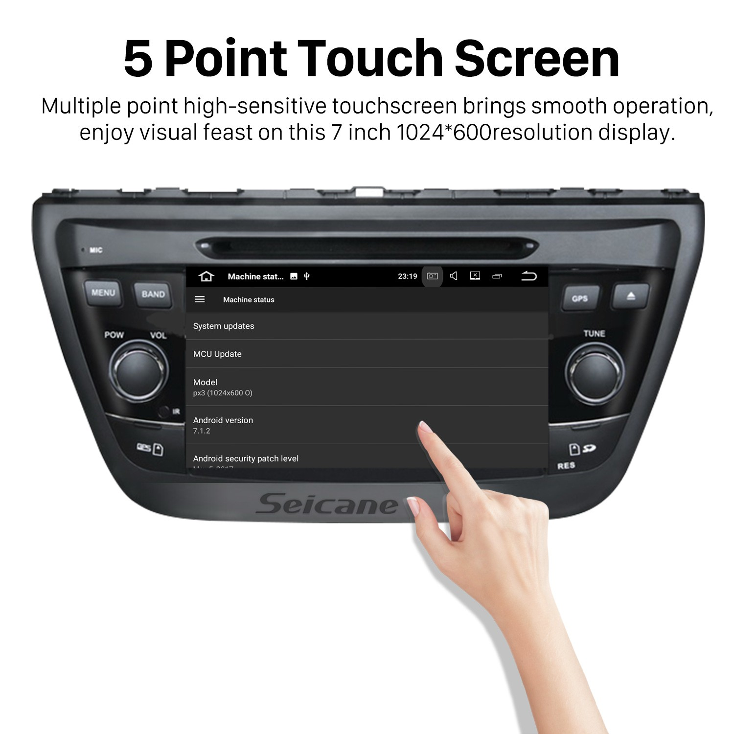 Android 7 1 Radio DVD player GPS navigation system Bluetooth Stereo
