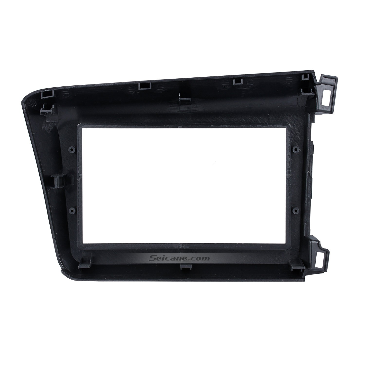 Graceful 2din 2012 Honda Civic Lhd Car Radio Fascia Audio Frame Dash Kit Auto Stereo Installation