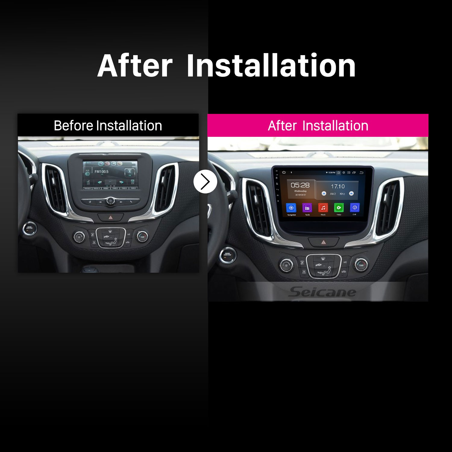 10 1 inch Android 9 0 Radio for 2016-2018 chevy Chevrolet