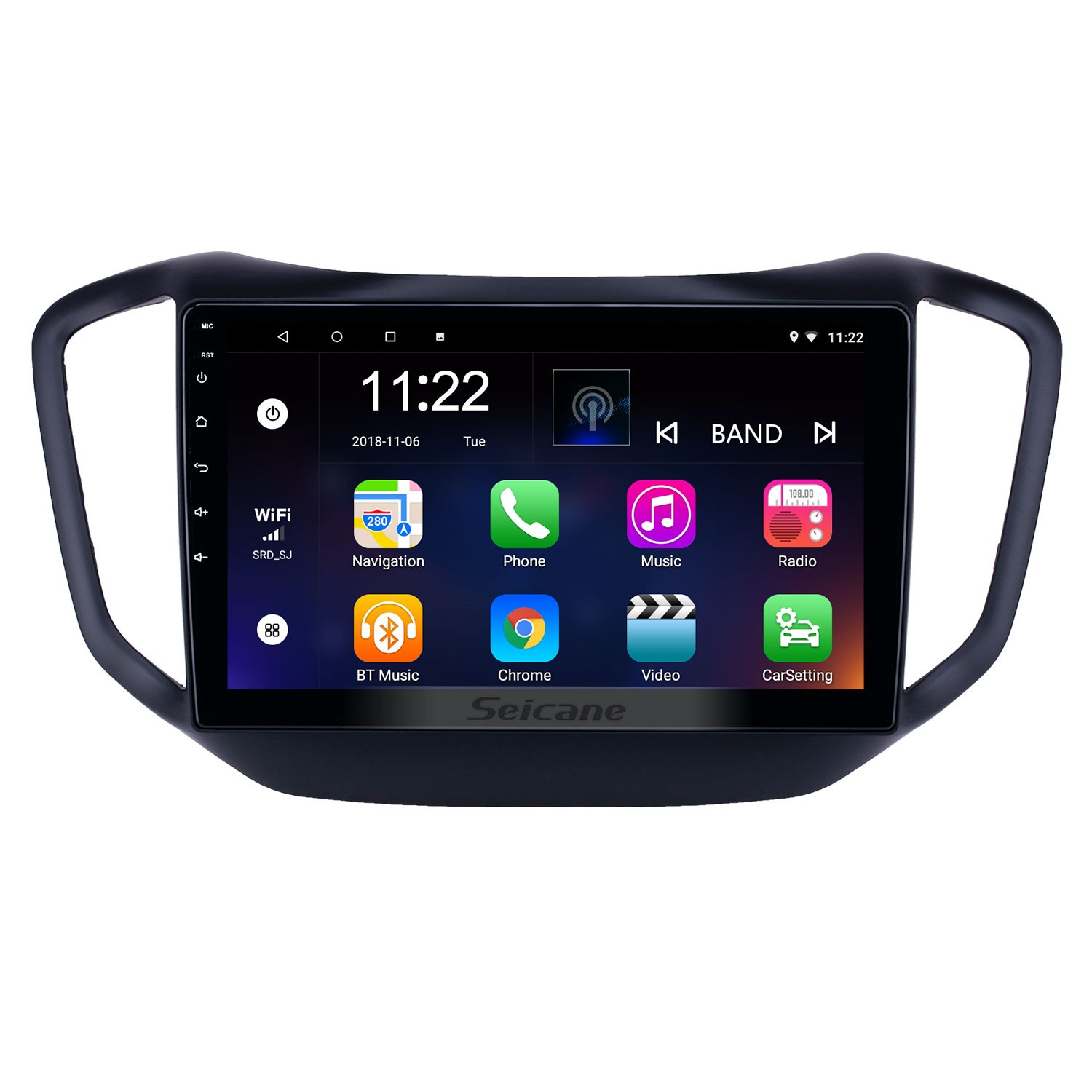 10 1 inch Android 8 1 GPS Navigation Radio for 2014-2017