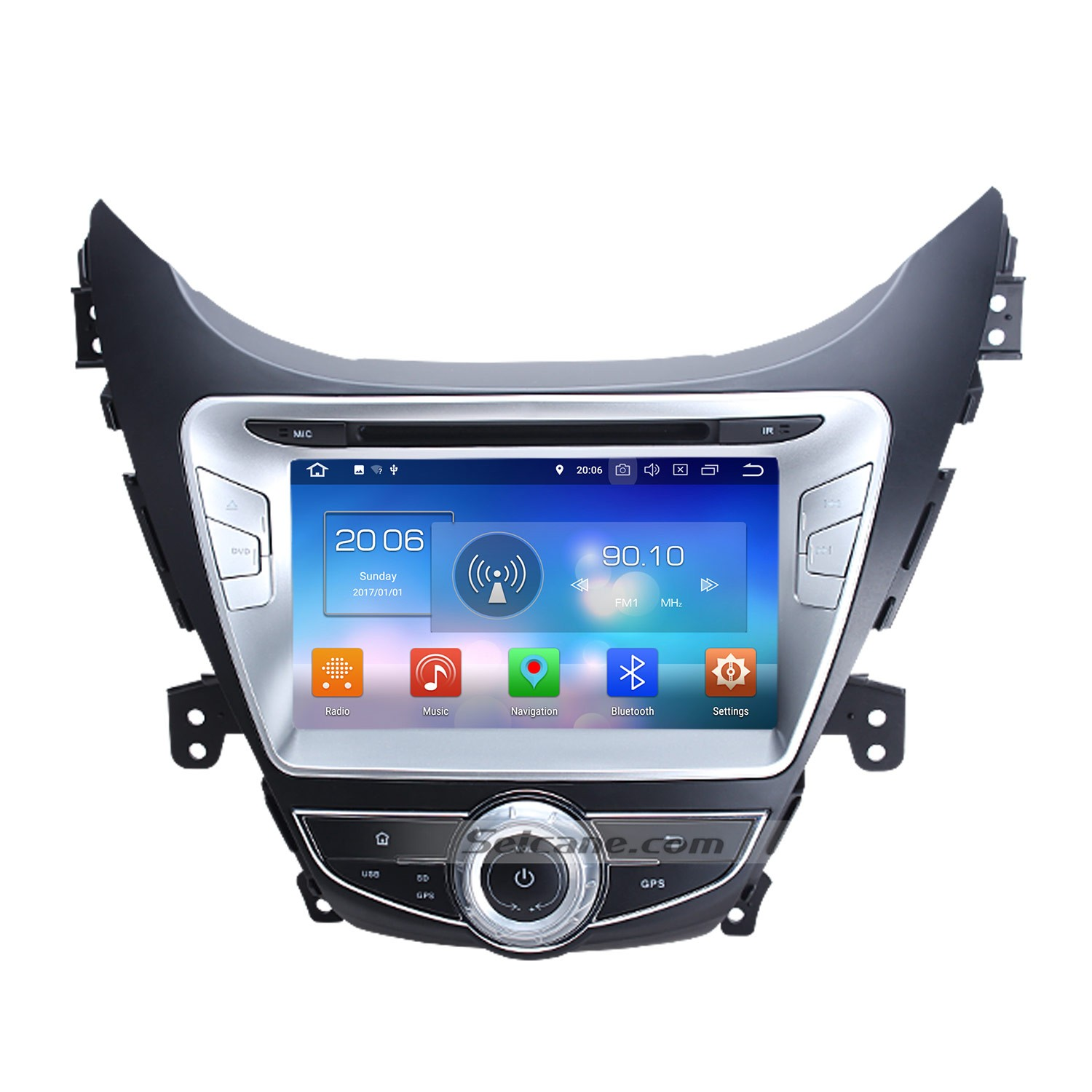 8 inch 2011 2012 2013 Hyundai Avante Android 8 0 DVD player GPS