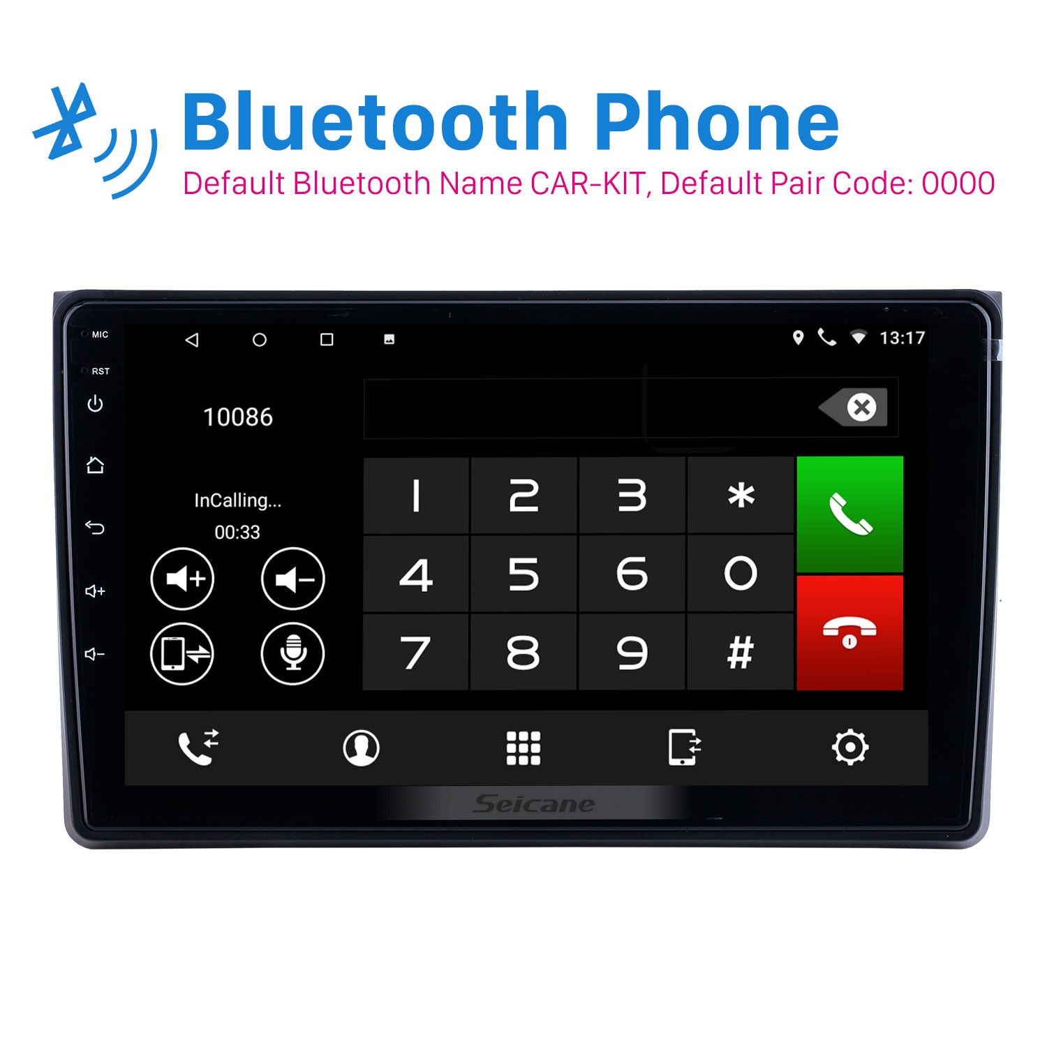 9 Inch Android 8.1 For 2002 2003 2004-2008 Audi A4 Radio