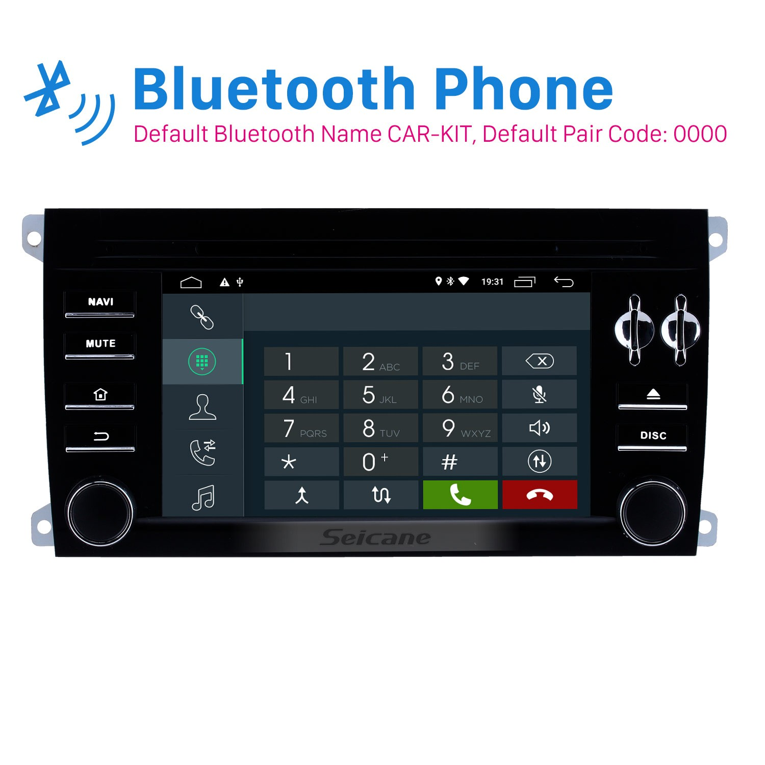 Android 8.1 GPS Navigation System Stereo for 2003 2004 2005 2006-2011 Porsche Cayenne With Video ...