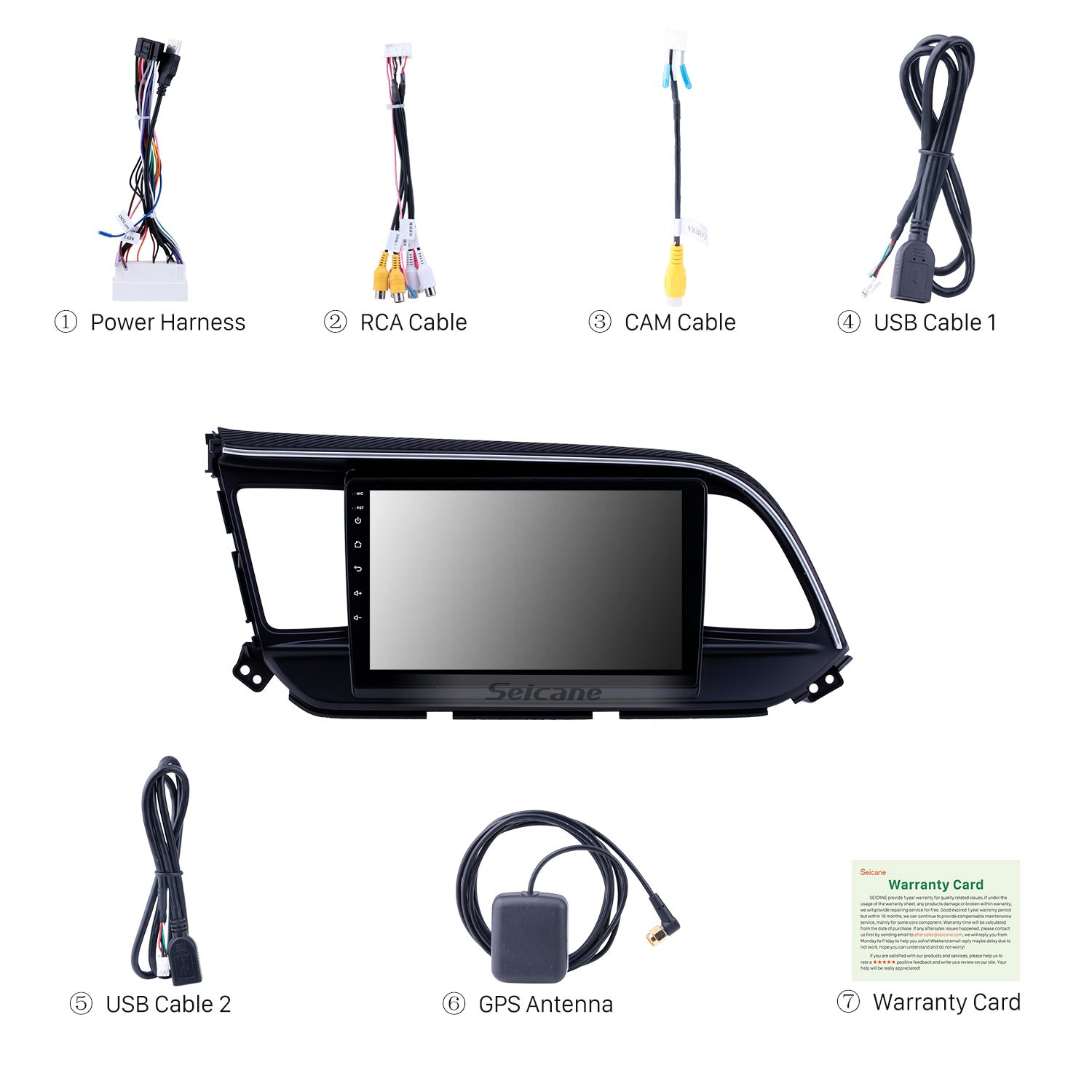 Android 8 1 9 Inch Touchscreen Gps Navigation Radio For 2019 Hyundai