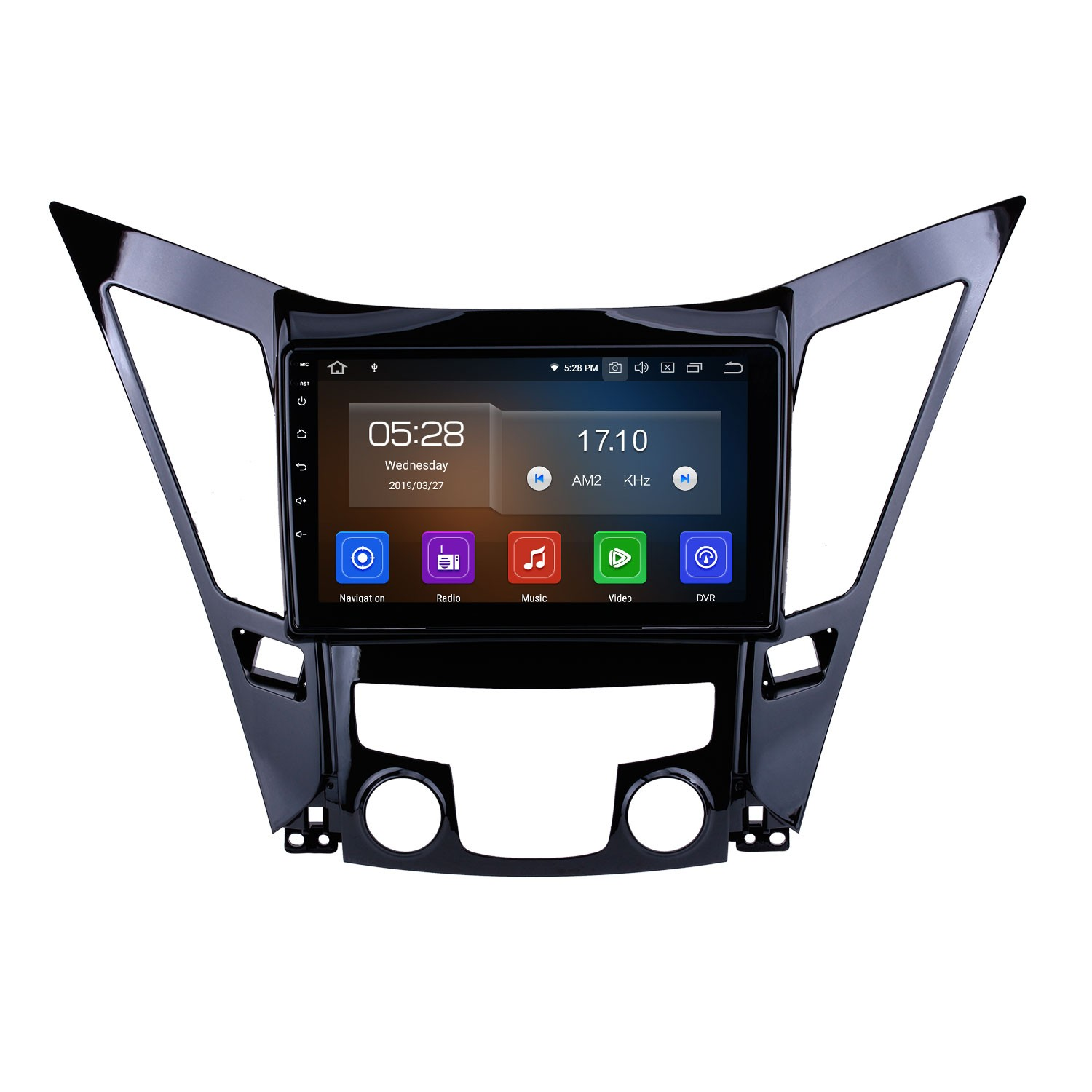 9 Inch Android 9 0 Touch Screen GPS Navigation system For 2011-2015