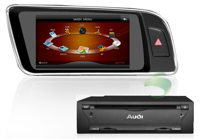 Android Audi Q5 DVD GPS Navigation