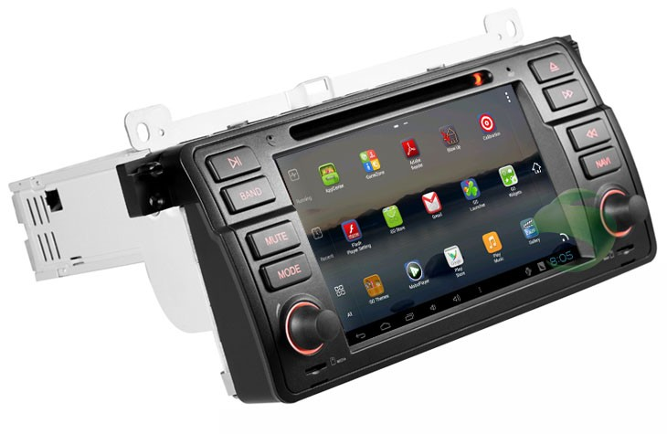 android 4 0 7 inch car dvd player for bmw 3 series e46 gps. Black Bedroom Furniture Sets. Home Design Ideas