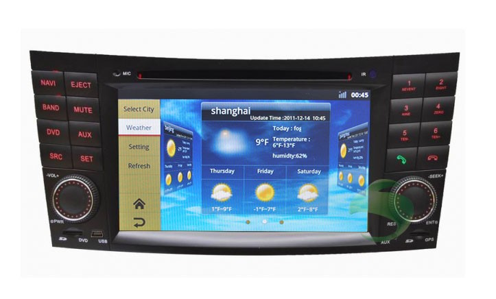The cheap android mercedes benz w463 dvd player with gps for Mercedes benz stereo upgrade