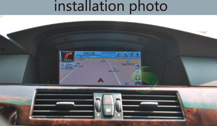 BMW 5 Series E64 2008 navigation system