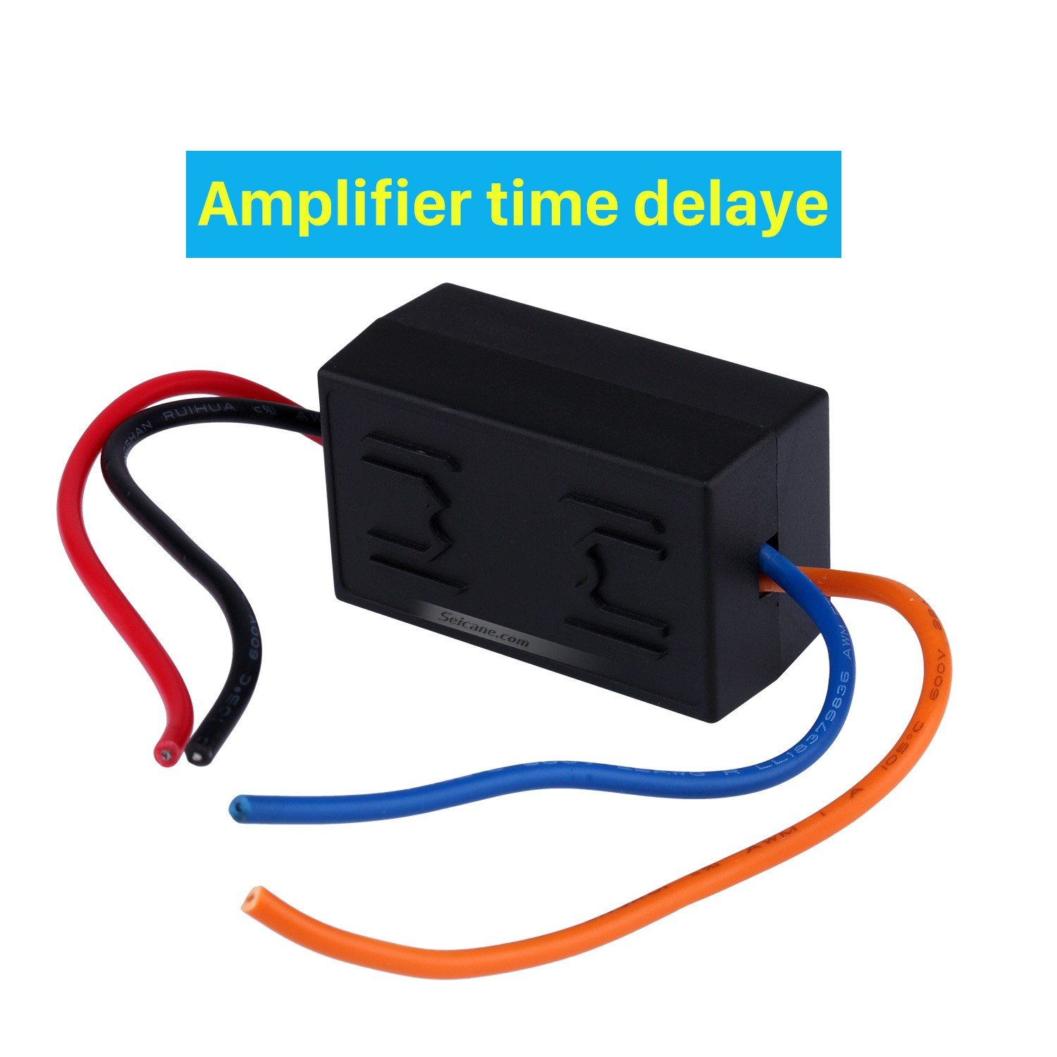 Car Wire Harness Audio Power Amplifier Time Delayer Starter Adapter
