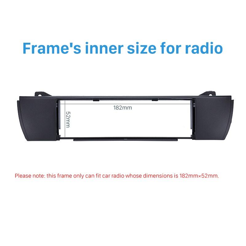 quality one din 2003 2009 bmw z4 e85 e86 car radio fascia dash dvd player audio trim. Black Bedroom Furniture Sets. Home Design Ideas