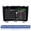 2006-2011 HONDA CRV 9 inch Andriod 10.0 Radio GPS Navigatin System with bluetooth Digital TV OBD2 DVR Backup Camera TPMS RDS AUX Steering Wheel Control 4G Wifi