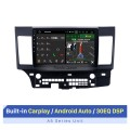 10.1 inch Android 10.0 Radio GPS navigation system for 2007-2015 Mitsubishi LANCER with Bluetooth HD touch screen OBD2 DVR Rearview camera TV 1080P Video USB Steering Wheel Control