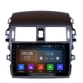 9 Inch 2007 2008 2009 2010 COROLLA Android 9.0 Touch Screen radio Bluetooth GPS Navigation system For DVR OBD II 3G/4G WiFi Rear camera Steering Wheel Control IPS Full Screen View
