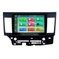 2007-2015 Mitsubishi LANCER Android 8.0 Radio DVD player GPS navigation system Bluetooth HD 1024*600 touch screen Mirror link OBD2 DVR Rearview camera TV 1080P Video 3G WIFI Steering Wheel Control USB