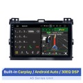 For 2002-2009 Toyota Prado Cruiser 120 Android 10.0 Autoradio DVD Navigation System with 3G WiFi Bluetooth OBD2 Rearview Camera HD 1024*600 Multi-touch Screen