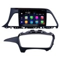 Android 8.1 2015 2016 2017 Hyundai Sonata 9 Inch HD Touchscreen Car Stereo Radio Head Unit GPS Navigation Bluetooth WIFI Support Steering Wheel Control USB OBD2 Rearview Camera