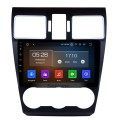 Android 9.0 9 Inch HD Touchscreen In Dash Radio Head Unit For 2014 2015 2016 Subaru Forester GPS Navigation Bluetooth Music USB Audio System Support Backup Camera Digital TV 1080P Video DVR Steering Wheel Control