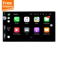Plug and Play Carplay MP5 Player Touchscreen Radio Bluetooth Music receiver Support IOS IPhone Siri Microphone voice control Backup camera Steering Wheel Control